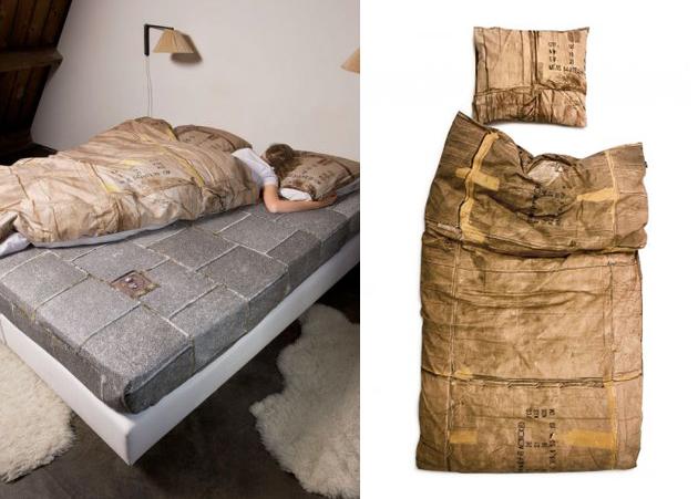 Snurk cardboard box duvet cover