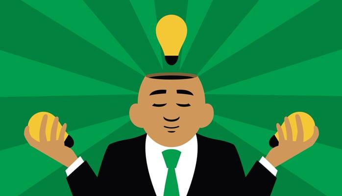 Originelere ideeën dankzij de Braindump