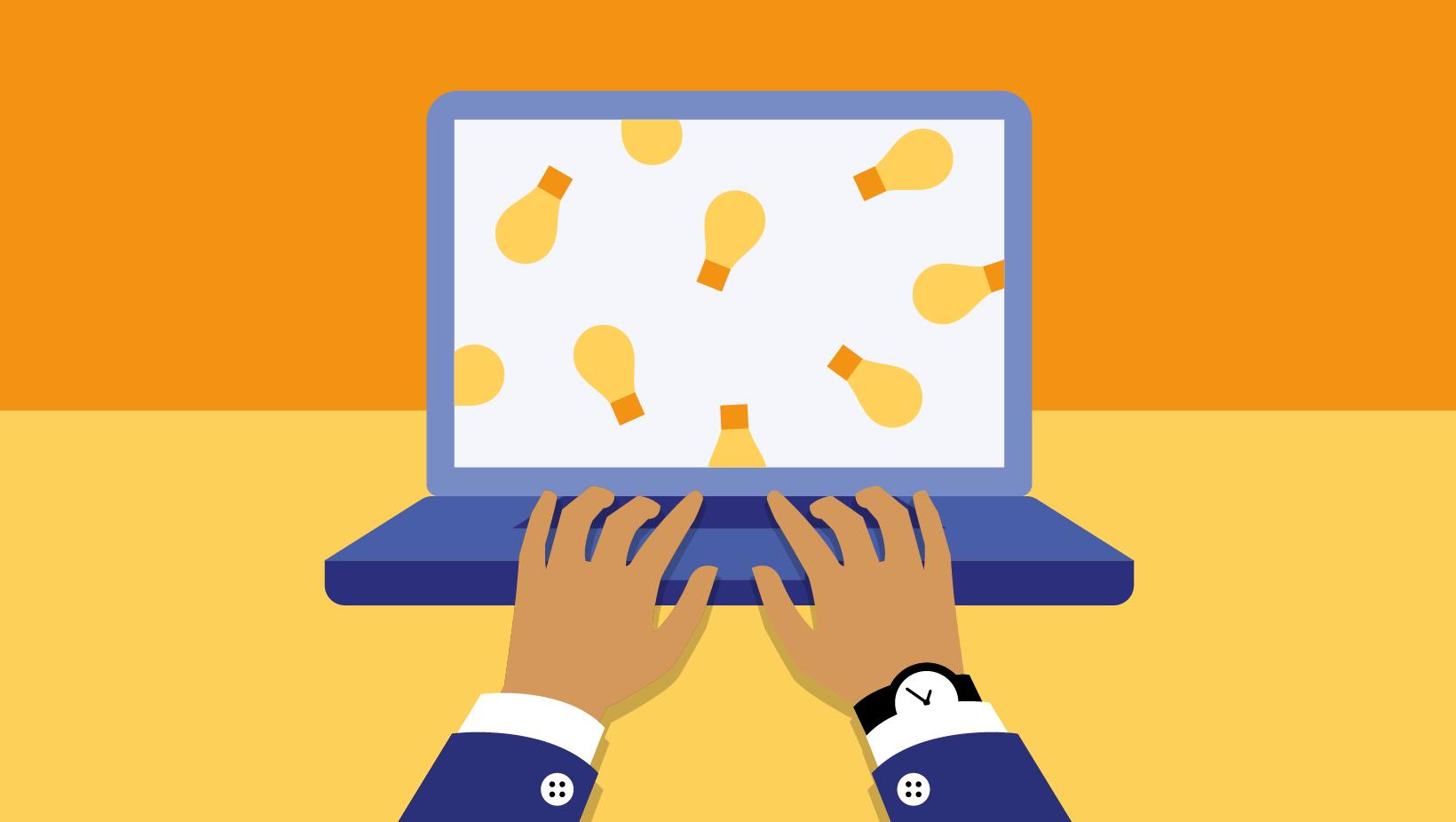 online training creatief problemen oplossen - online brainstorming